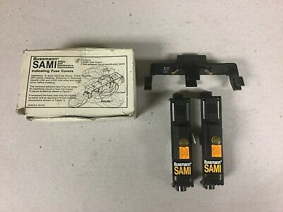 Bussmann SAMI-1I Indicating Fuse Covers-Box of 3 New
