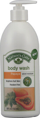 Papaya Velvet Moisture Body Wash, Nature's Gate, 18 oz
