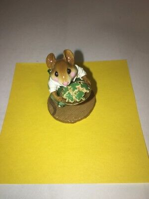 """Wee Forest Folk M-246 Limited Edition St. Patrick's Day """"Sugar & Spice"""""""