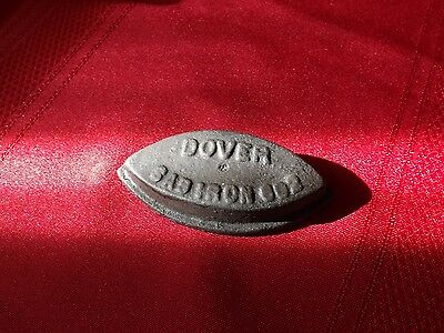 Antique Dover Doll Size Cast Iron Sad Iron - Very Nice Condition.