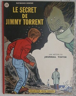 Jari Le Secret de Jimmy Torrent JE22 EO 1963 Flambant Neuf album Parfait Reding