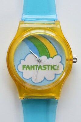 Vintage 80s stickers watch - 80s designer style watch