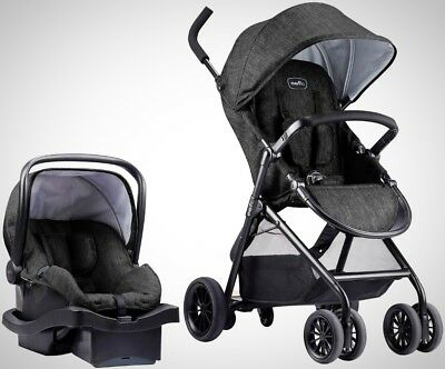 Evenflo Sibby Travel System With LiteMax Infant Car Seat