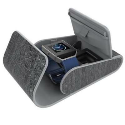 New myCharge PowerGearSport Fitbit Wearables Charging Case GREY Free Shipping