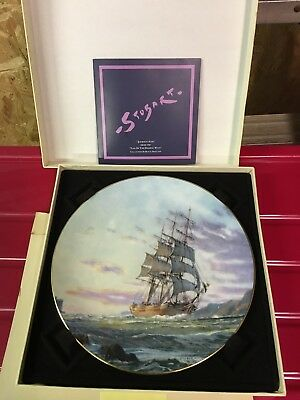 1984 Journey's End Original Work By John Stobart Royal Doulton Collector's Plate