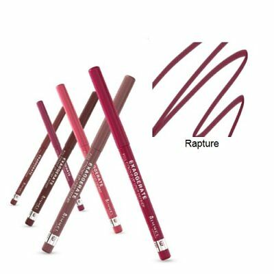 Rimmel Exaggerate Full Colour Lip Liner, 022 Rapture, Dark Rimmel Lipliner, New