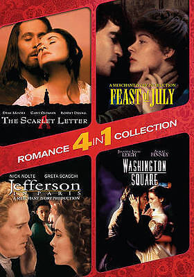 4-In-1 Romance Collection: The Scarlet Letter/Washington Square/Jefferson in Par