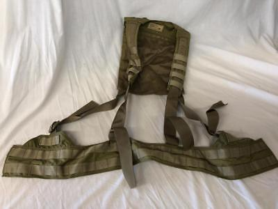 Eagle Industries Khaki H-Harness Chest Rig Light Weight MOLLE