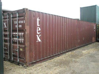 40' High Cube Cargo Worthy Phoenix Shipping Container Box Storage