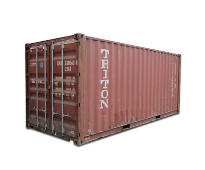 20' Cargo Worthy Container Savannah Shipping Container Box Storage Reprocessing