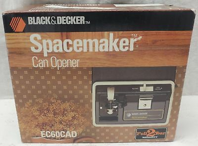 BLACK+DECKER Spacemaker Multi-Purpose Can Opener EC60CAD