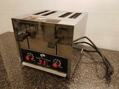 Star STO4H Toaster Commercial 4 Slice Heavy Duty Works but Selling as Parts