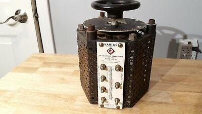 General Radio Model 100-Q Variac 18 Amp 110 V 115 C MY OTHER HAM RADIO GEAR