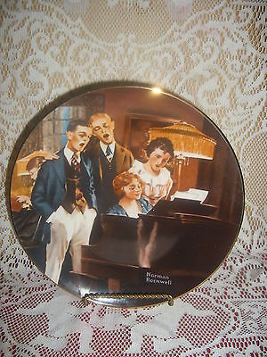 Close Harmony Ltd Ed. Knowles Rockwell Light Campaign series Plate #5