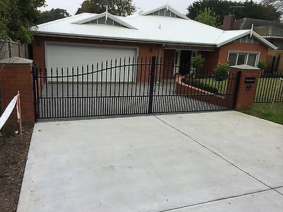 Driveway Gates Steel Richmond Design