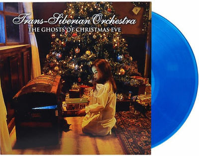 Trans-Siberian Orchestra The Ghosts of Christmas Eve VINYL BLUE Vinyl LP