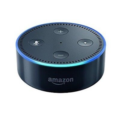 Amazon Echo Dot Black 2Nd Generation Alexa Voice Controlled Device New Sealed