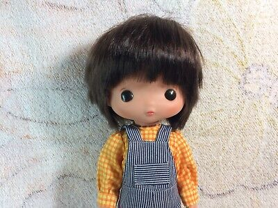 """Vtg Famosa Spain Doll Big Eyes 60s Collectible Doll Spanish 13"""" Rubber"""