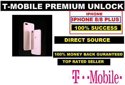 Tmobile Iphone 8/8+ Factory Unlocking Clean/Financed/Inactive Service