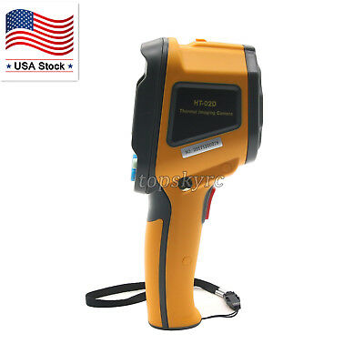 "HT-02D Handheld Infrared Thermal Imager Camera with 2.4"" Color Lcd Display US"
