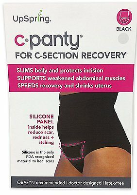 UpSpring Recovery & Slimming Underwear C-Panty High Waist C-Section Plus Size