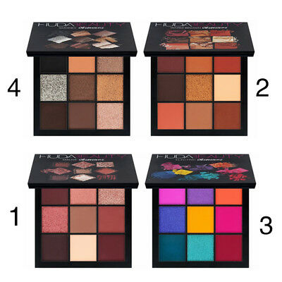 Smooth Eyeshadow Palette Eyeshadow Compact 9color Warm Brown Gorgeous Party