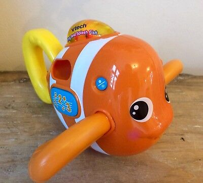 ❤️ Fantastic Vtech Sing And Splash Bathtime Fish ~ Baby Bath Toy ❤️