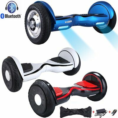 Hoverboard 10 Pollici Smart Balance Overboard Pedana Scooter Bluetooth New 2018#