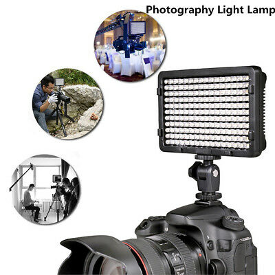 Portable 176Pcs LED Video Photography Fill Light Lamp & 2 Filter For Canon Sony