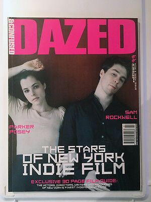 Dazed & Confused Magazine Issue 44 JULY 1998 SAM ROCKWELL PARKER POSEY NEAR MINT