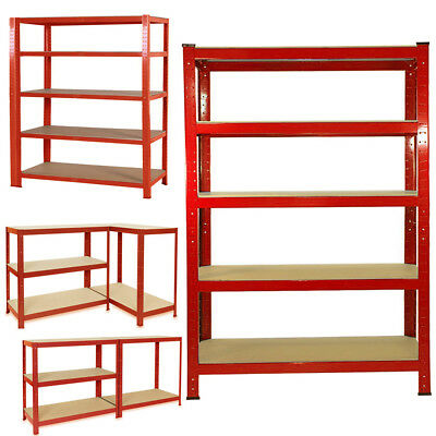 Heavy Duty 120cm Wide Shelving Racking Used Steel for Industrial Garage Storage
