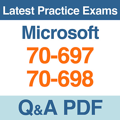 Microsoft Practice Tests 70 697 70 698 Certification Exams Q A Pdf