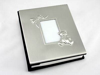Skyway Keepsake Baby Photo Picture Frame Album Silver - Engravable New