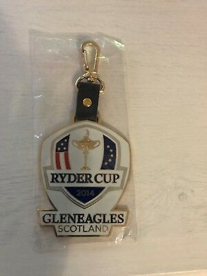 gleneagles ryder cup bag tag 2014 collectors Fathers Day Dad gift brand new