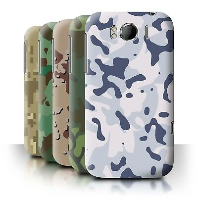 STUFF4 Back Case/Cover/Skin for HTC Sensation XL/G21/Military Camo Camouflage