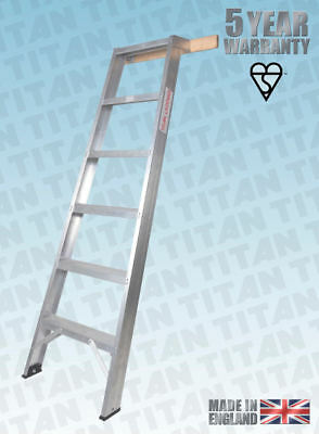 Shelf Ladder 1.5 m - 3.4 m Wood or Hook Stay - TITAN