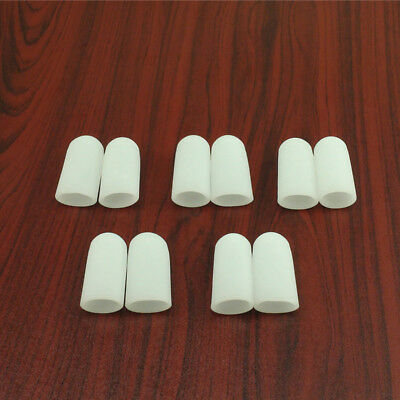 10Pcs Silicone Gel Toe Tube Caps Foot Corns Remover Blisters Toe Protector C169