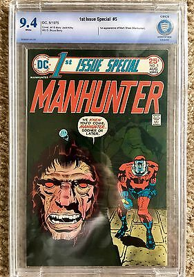 1st Issue Special 5 CBCS 9.4 (CGC) First Appearance of Mark Shaw (Manhunter)!!