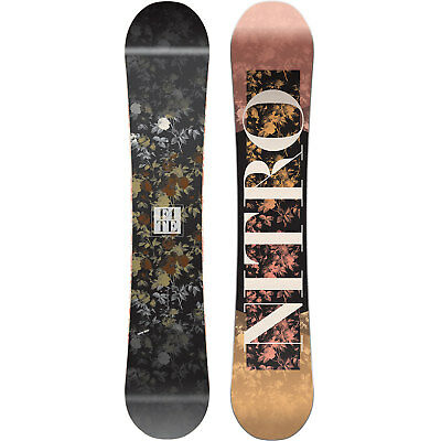 Nitro Fate Women's Snowboard All Terrain Freestyle Freeride Camber 2018 NEW