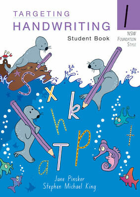Targeting Handwriting NSW Year 1 Student Book NEW by Pascal Press 9781740202978