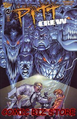 Pitt Crew #2 (1998) 1St Printing Bagged & Boarded Full Bleed Comics