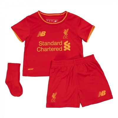 Liverpool Baby Kit Home Shirt Shorts & Socks Official New Balance 2016/17 Season