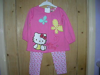 Pyjamas HELLO KITTY for Girl 1,5-2 years H&M