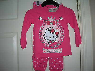 Pyjamas Set HELLO KITTY for Girl 1,5-2 years H&M