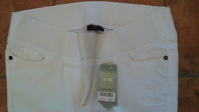 Size 16L White Maternity Jeans From Next Brand New With Tags
