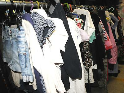 120+ items of childrens (mainly girls) clothing (25kg) -  0-15yrs HUGE job lot!