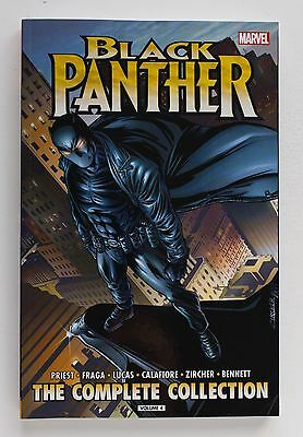 Black Panther The Complete Collection Vol. 4 Marvel Graphic Novel Comic Book