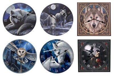 Fantasy Wall Picture Clocks Decorative Gothic Fantasy Pagan Mystic