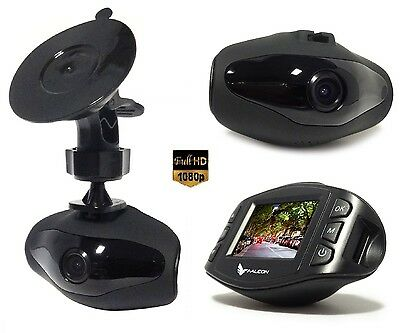 "FALCON HD63-LCD 1,5"" Full HD 1080p 3Mp DVR CAMERA - VIDEO CAMARA GRABADORA Coche"
