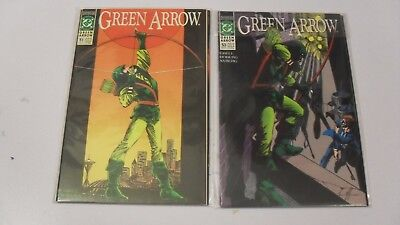 Green Arrow #51-60 (1988) By Mike Grell and others DC Comics Black Canary